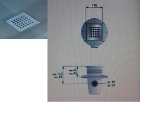 Guaina impermeabilizzante 150x180 doccia a pavimento griglia e