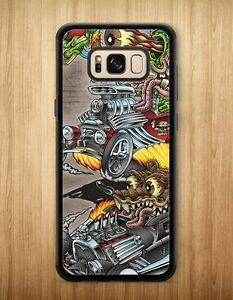 promo code 42c61 44cfc Details about New Rat Fink Hot Rod Big Daddy Cartoon Case Cover For Samsung  Galaxy S8 S8 Plus