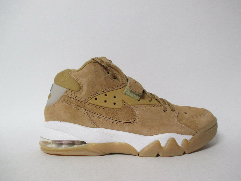 Nike Air Force Max Premium Wheat Flax Phantom Gum Barkley Sz 10.5 315065-200
