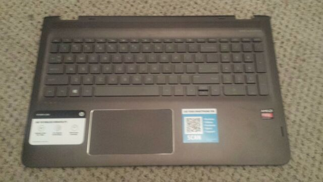857285-001 Hp M6-ar004dx Palmrest touchpad Genuine Keyboard W2k56ua Great