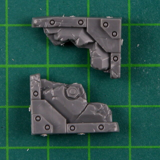 Sector Imperialis Basilicanum Small Cracked Floor Section Warhammer 40k