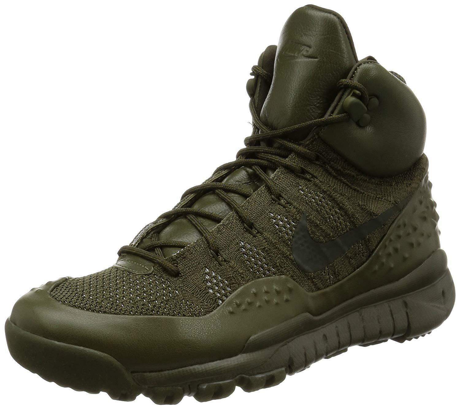 Men's Nike Lupinek Flyknit Sneakers CARGO Shoes - Size 10 (862505-300) CARGO Sneakers KHAKI/SEQ 0b58dc