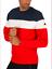 Ellesse-sudadera-para-hombre-de-logotipo-en-relieve-Azul-Rojo-Blanco-XL-Cuello-Redondo-RRP-65 miniatura 1