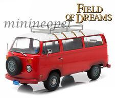 GREENLIGHT 19010 FIELD OF DREAMS MOVIE (1989) 1973 VW VOLKSWAGEN TYPE 2 BUS 1/18