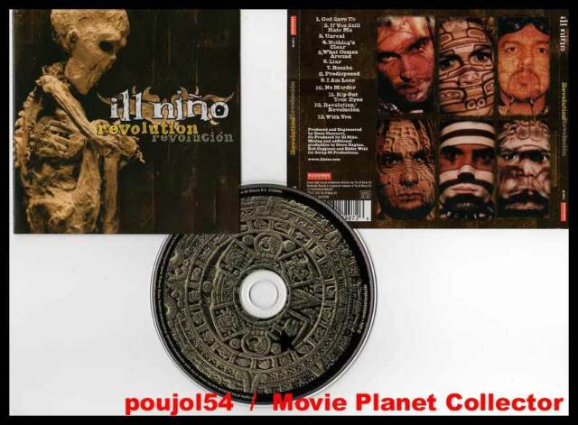 """ILL NINO """"Revolution Revolucion"""" (CD) 2001"""