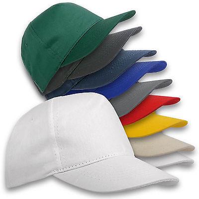 Cappellino Extra Lusso 5 Pannelli Visiera Di 2mm 100% Cotone Regolazione Velcro
