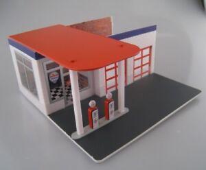 Autos, Lkw & Busse Chevron Vintage Gas Station Tankstelle Greenlight 1:64 Ovp Neu Elegantes Und Robustes Paket