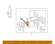 s l225 bmw oem 01 06 325ci door side rear view mirror wiring harness Side View Mirror Replacement at crackthecode.co