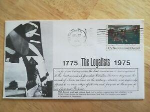 Enveloppe-1975-The-loyalists-timbre-US-Bicentennial-lexington-concord-sanham