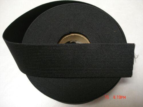 1.1//2 yards*Black* 11//2 inch heavy duty elastic band