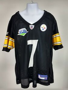 19e6b4d7f073 Image is loading RBK-NFL-Pittsburgh-Steelers -Super-Bowl-XLIll-Roethlisberger-