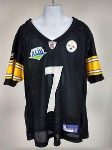 2a3fff053733 Image is loading RBK-NFL-Pittsburgh-Steelers -Super-Bowl-XLIll-Roethlisberger-
