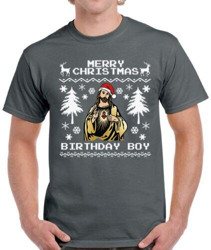 Men/'s Merry Christmas Birthday Boy Shirts Tops T-shirts for Men Christmas Gifts