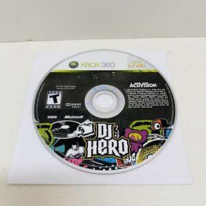 DJ Hero (Microsoft Xbox 360, 2009) Disc only ***Free Shipping!