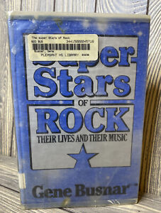 The-Superstars-Of-Rock-Their-Lives-And-Music-Jean-Busnar-1980-Hardback-Book