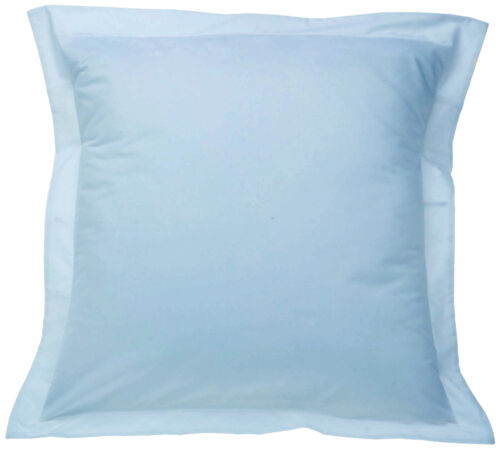 """1000 TC 2PC PILLOW SHAMS WITH 2/"""" HEM 100/% EGYPTIAN COTTON ALL SIZES AND COLORS"""