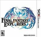 Final Fantasy Explorers (Nintendo 3DS, 2016)