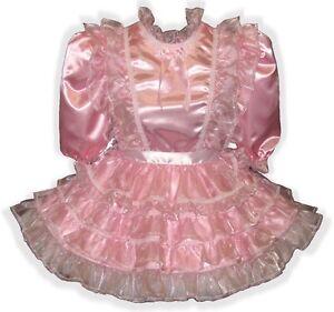 dress sissy Adult pink