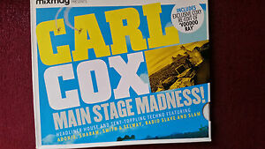 CARL-COX-MAIN-STAGE-MADNESS-MIXMAG-CD-GUY-CALLED-GERALD-SLAM-ECT