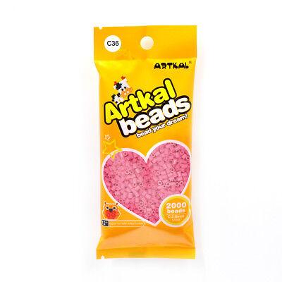 Fuse Beads Reines Und Mildes Aroma Mini Bügelperlen 2,6mm C36 Old Rose FleißIg Original Artkal 2000stk