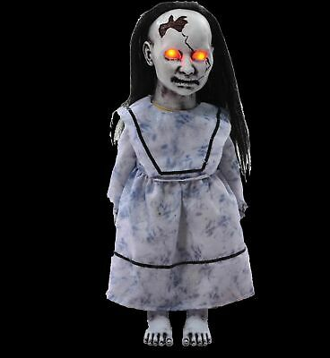HALLOWEEN LITTLE PRECIOUS DOLL SOUND PROP DECORATION HAUNTED HOUSE CEMETARY