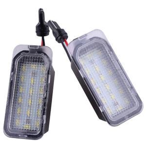 Paar-LED-Kennzeichenbeleuchtung-Nummernschild-fur-Ford-Fiesta-Focus-S-MAX-C-MAX