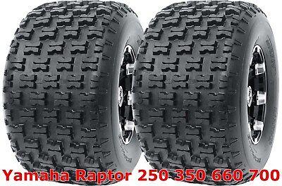 22X7-10 YAMAHA YFM 660 RAPTOR AMBUSH SPORT ATV TIRES SET 4 20X10-9  CST