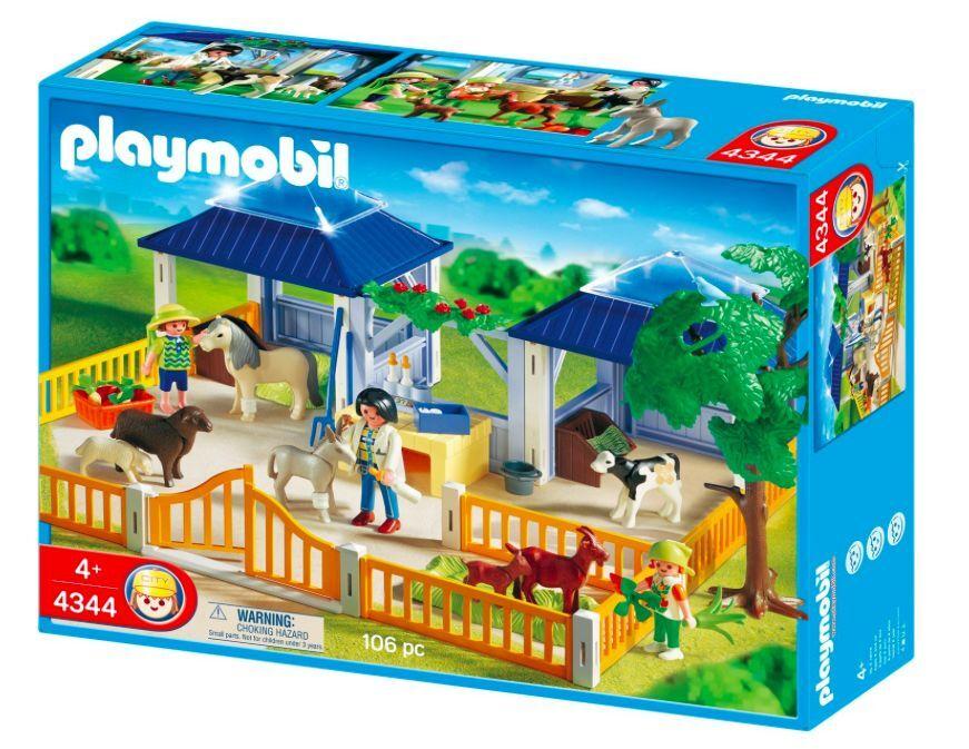 PLAYMOBIL® 4344 Tierpflegestation mit Freigehege NEU_ Animal Nursery NEW MISB