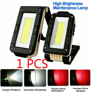 USB-Rechargeable-Magnetic-COB-LED-Work-Light-Lamp-Folding-Inspection-Light-Torch
