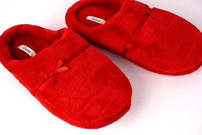 Aggressivo Soma Rosso Vintage Pantofole Comodo Pelliccia Finta Felpa S 5-6 L 9-10 Xl 11-12 Possedere Sapori Cinesi