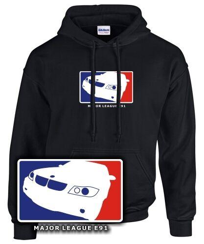 E91 Satire con Tuning Bmw 3er Felpa League cappuccio Sweatshirt Major Touring Treffen vIwAdxTqx