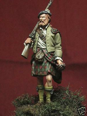 54mm Culloden Highlander C.1746 Scottish Highl Wee Friends WF54010 unpainted kit