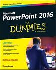 Powerpoint 2016 For Dummies von Doug Lowe (2015, Taschenbuch)