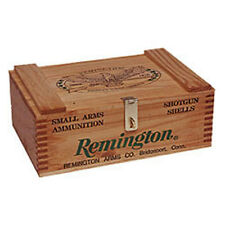 Remington 250 Wood Ammo Box 15X9.5X5.25