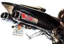 Big Gun EVO S Dual Slip On Exhaust Muffler Pipe Yamaha YZF - R1 2009-2013