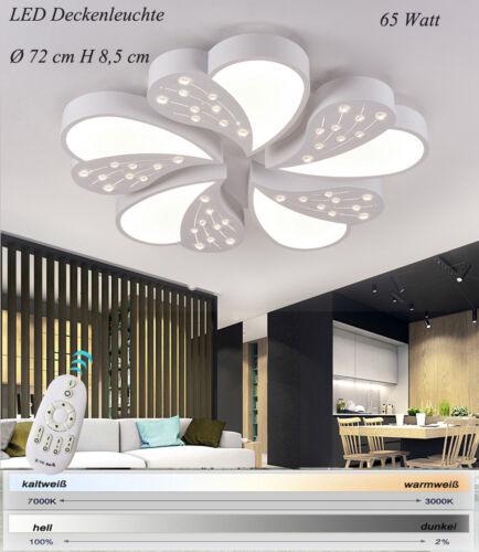 LED Deckenleuchte XW001WJ mit Fernbedienung Lichtfarbe//Helligkeit einstellbar A+