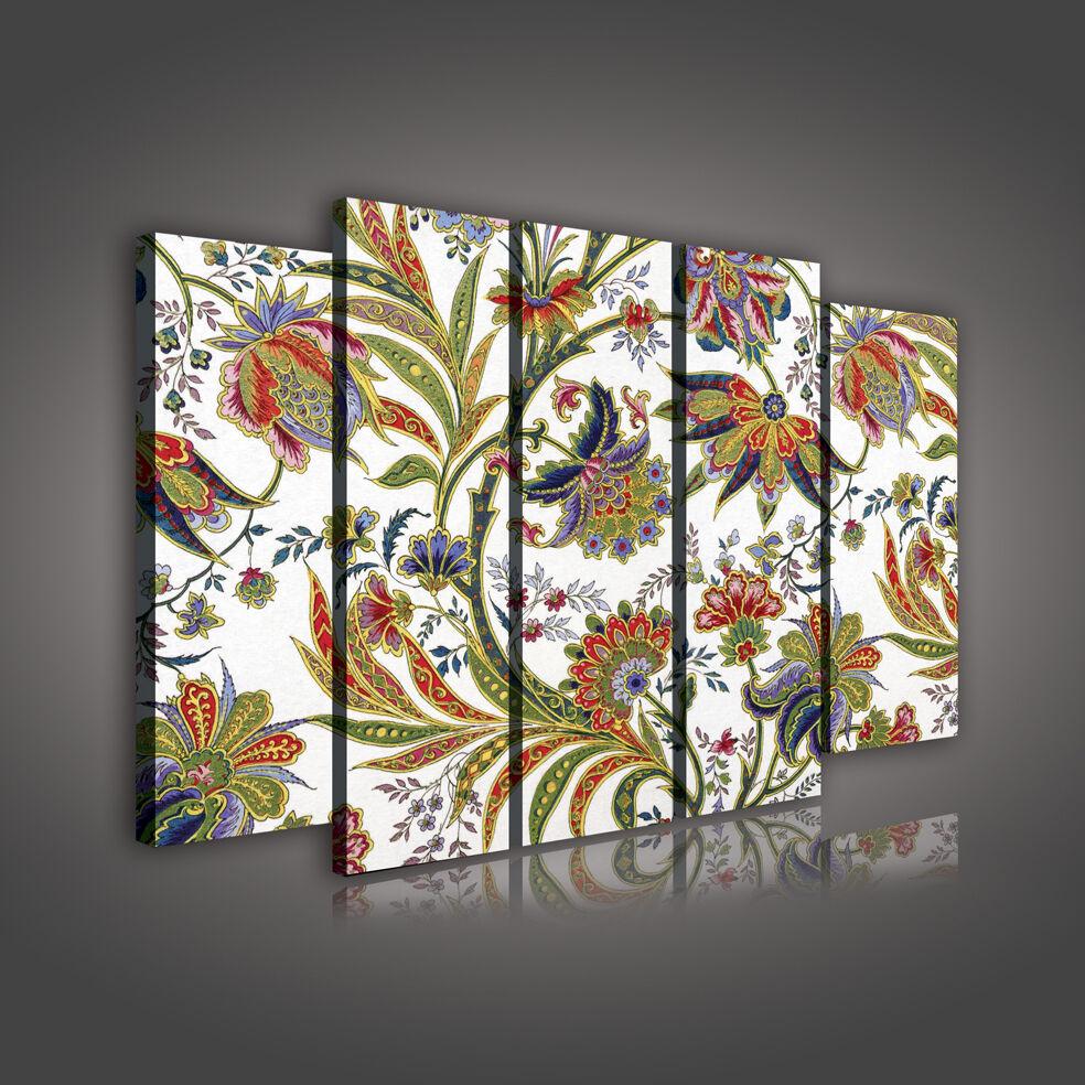 Toile image la fresque images peintures murales Canvas MultiCouleure Ornement 1074 s12