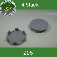 Z05 grau Nabenkappen  Felgendeckel  60 mm Brock ,RC , PLW Platin  4 St.