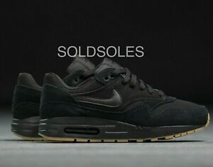 Détails sur Nike Air Max 1 BlackGum Junior afficher le titre d'origine