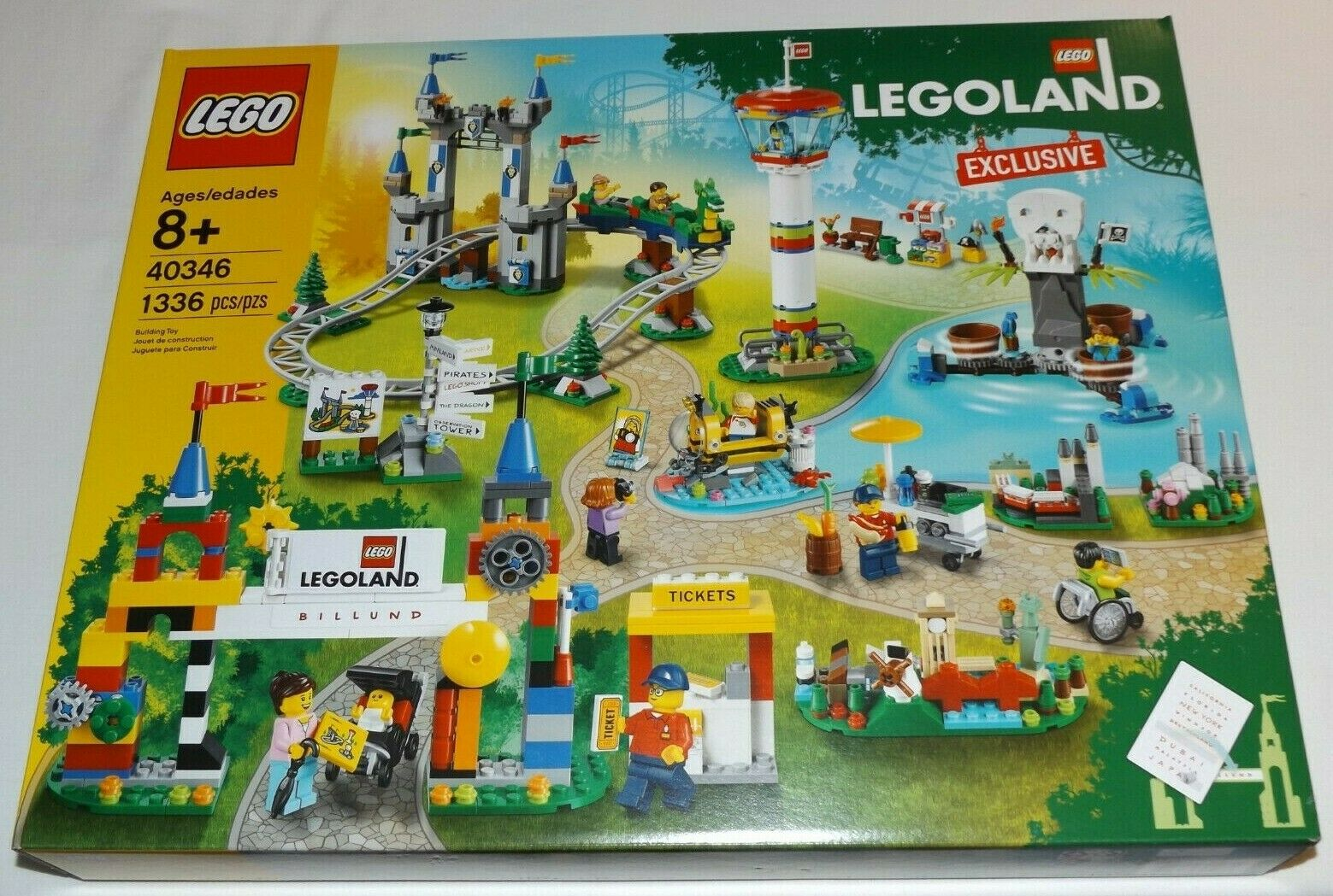 nuovo di marca LEGO 40346 LEGOLe store exclusive mini theme park Billund Billund Billund  molto popolare