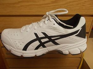 ffe0617e94 Details about ASICS MEN'S GEL 195TR CROSS TRAINER WIDE 2E WIDTH WHITE BLACK  MULTI SIZES