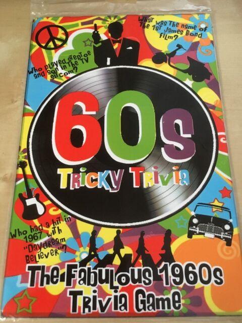 80's Tricky Trivia Quiz Game 1980s