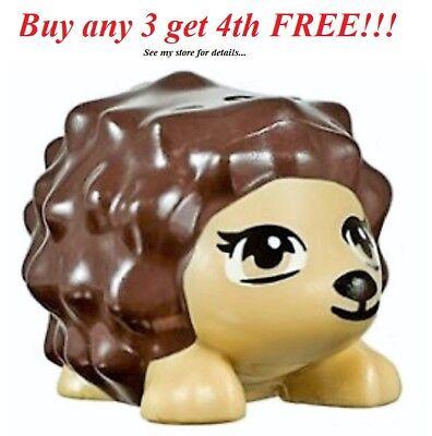 LEGO Friends Tan Hedgehog Animal pet