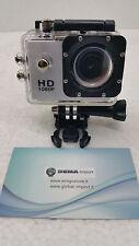 ACTION CAMERA SPORTS  FULL HD 1080P 30 METRI H.264 CON ACCESSORI WATERPROOF