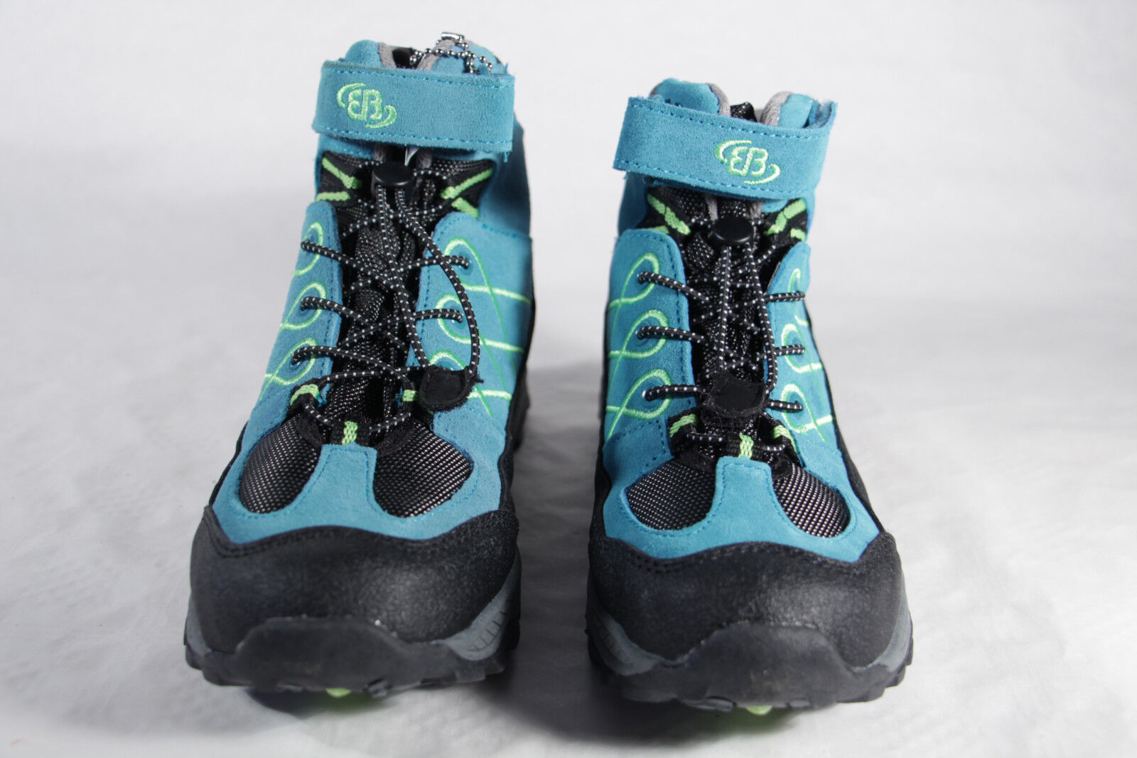 Brütting Hiking Boots Boots Boots Leather Comfortex bluee NEW 3e0d04