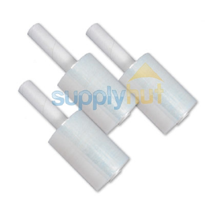"""5/"""" in x 1000FT 80 Gauge Extended Core Stretch Shrink Film Hand Wrap 4 Rolls Roll"""