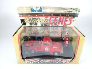 Road-Champions-Classic-Scenes-The-Texaco-Truck-Red-1-43-Scale-Diecast-NEW