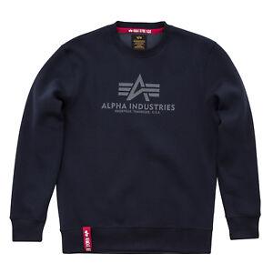 Felpa Industries Sweatshirt Alpha Alpha Industries qZxPqgOw