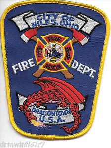 "Montgomery  Rehab Special Unit Rescue 3.75/"" x 5/"" size fire patch AL?"