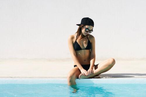 URBAN CLASSICS Ladies Bikini Basic Floral Donna Estate Sport a Fascia Triangle UC